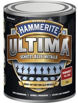 Hammerite Ultima 750 ml rubinrot matt