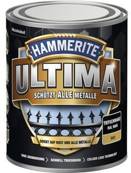 Hammerite Ultima 750 ml tiefschwarz matt