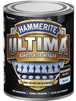 Hammerite Ultima 750 ml schokoladenbraun glänzend