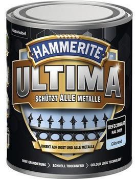 Hammerite Ultima 750 ml tiefschwarz glänzend