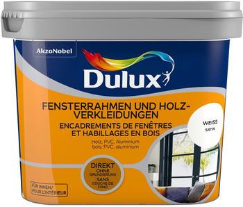 Dulux Fresh Up Fensterrahmen und Holzverkleidungen 0,75 l Weiss satin