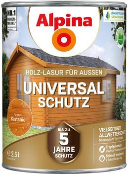 Alpina Universal-Schutz seidenmatt 2,5 l Kastanie