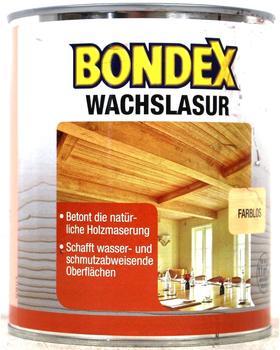 Bondex Wachslasur 0,25 l Hellbraun (352672)