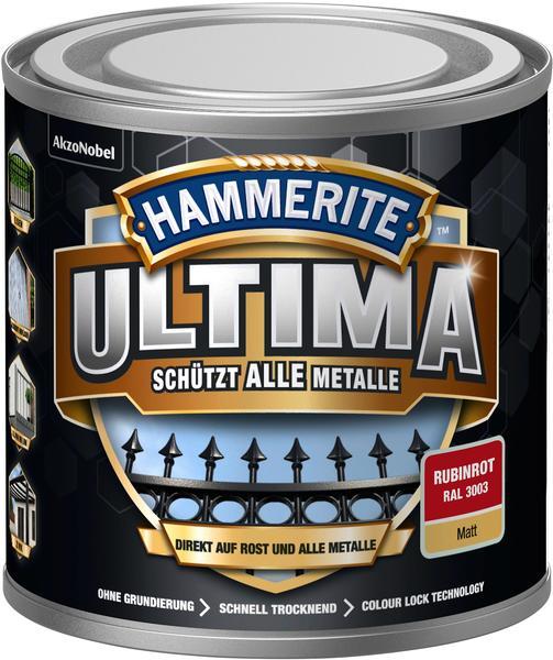 Hammerite Ultima 250 ml rubinrot matt