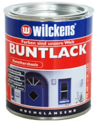 Wilckens Buntlack hochglanz 375 ml Rubinrot