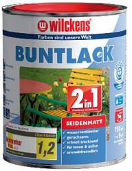 Wilckens Buntlack 2in1 seidenmatt 125 ml lichtgrau