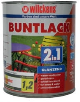 Wilckens Buntlack 2in1 glänzend 125 ml moosgrün
