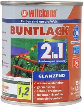 Wilckens Buntlack 2in1 glänzend 125 ml schokoladenbraun