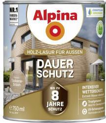 Alpina Farben Alpina Dauer-Schutz 0,75 l Toskanabraun