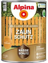 Alpina Farben Alpina Zaun-Schutz 2,5 l hellbraun