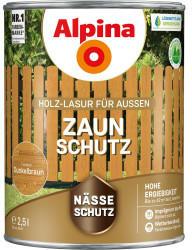 Alpina Farben Alpina Zaun-Schutz 2,5 l dunkelbraun