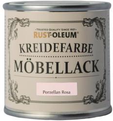 RUST-OLEUM Möbellack Kreidefarbe Porzellanrosa Matt 125 ml