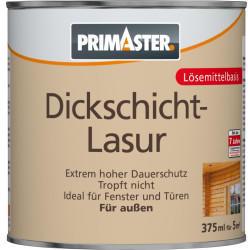 PRIMASTER Dickschichtlasur 375 ml nussbaum