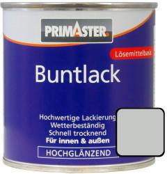 PRIMASTER Buntlack 125 ml lichtgrau hochglänzend