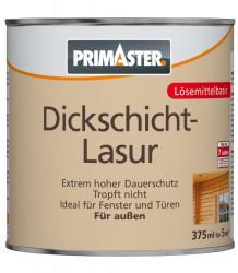 PRIMASTER Dickschichtlasur 375 ml mahagoni