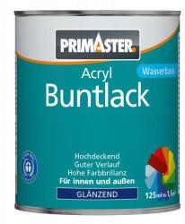 PRIMASTER Acryl Lack 125 ml glänzend feuerrot
