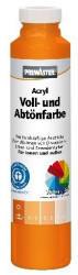 PRIMASTER Voll- und Abtönfarbe 750 ml reinorange matt