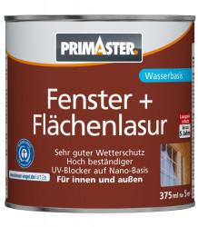 PRIMASTER Fenster- und Flächenlasur 375 ml teak