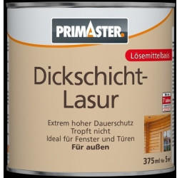 PRIMASTER Dickschichtlasur 375 ml teak