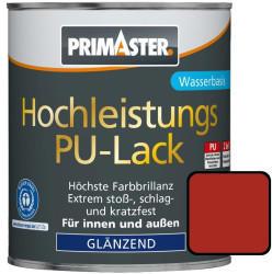 PRIMASTER Hochleistungs PU Lack 125 ml feuerrot glänzend