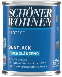 Schöner Wohnen Protect Buntlack hochglänzend Muskatbraun 125 ml