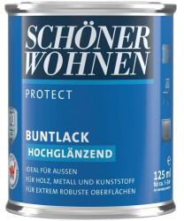 Schöner Wohnen Protect Buntlack hochglänzend Erdbraun 125 ml