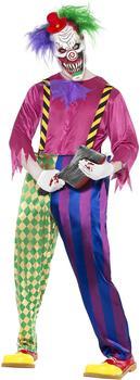 Smiffy's Kolorful Killer Klown Costume Gr. L (21623)
