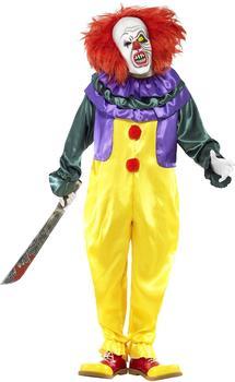 Smiffy's Classic Horror Clown Costume Gr. L (24376)