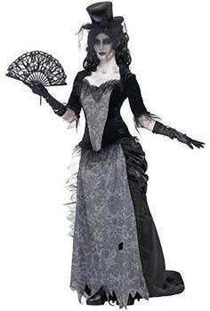 Smiffy's Geisterstadt Schwarze-Witwe-Kostüm Gr. L (24575)