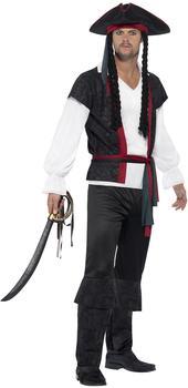 Smiffy's Aye Aye Pirate Captain Kostüm Gr. S (45492)