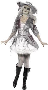Smiffy's Geisterschiff-Piratenschatz-Kostüm für Damen Gr. S (24362)