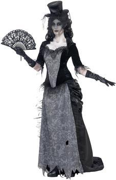 Smiffy's Geisterstadt Schwarze-Witwe-Kostüm Gr. M (24575)