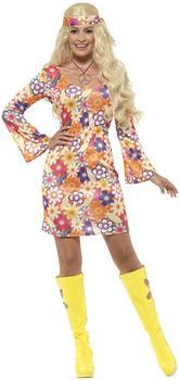 Smiffy's Flower Hippie Kostüm (45520)
