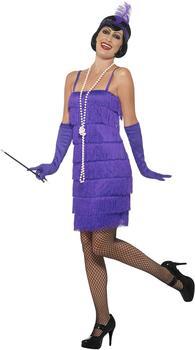 Smiffy's Flapper Kostüm Gr. XL (45500)