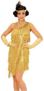 Widmann 20er Jahre Charleston Kostüm Gr. L (7355) gold
