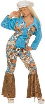 Widmann Flower power hippie costume