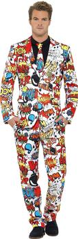 Smiffy's Mister Comic Party Anzug XL
