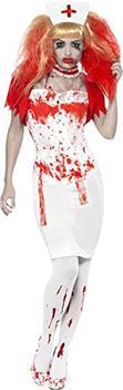Smiffy's Nightmare Krankenschwester Kostüm S