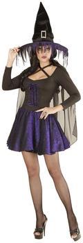 Widmann Violette Glimmer Hexe Halloweenkostüm M