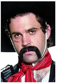 Smiffy´s Authentic Western Mexican Handlebar Moustache