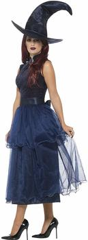 Smiffy´s Deluxe Midnight Witch Costume S