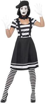 Smiffy's Lady Mime Artist Kostüm (24627)
