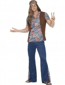 Smiffy's Hippy Adult Costume