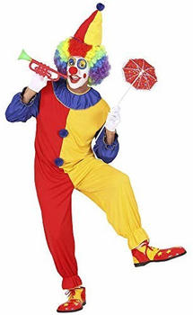 NET TOYS Clown red and yellow adult costume