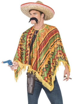 Smiffy's Mexican traditional poncho adult costume
