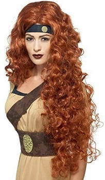 Smiffy's Brown warrior queen adult wig