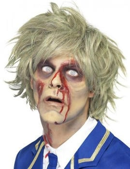 Smiffy's Zombie adult wig short blonde
