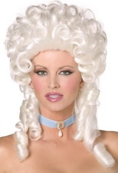 Smiffy's Baroque style white adult wig