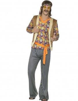 Smiffy's 60s hippie singer adult costume