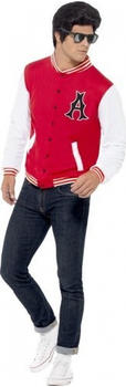 Smiffy's Red college football jacket adult costume